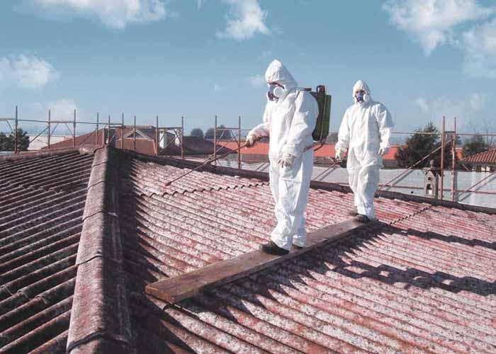 Rifacimento tetti e rimozione amainto