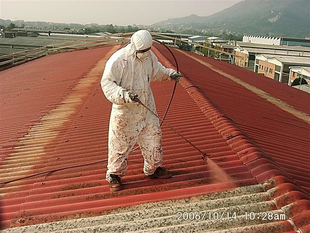 Incapsulamento tetti amianto