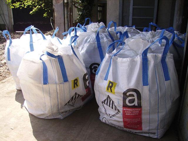 Prezzi rimozione rifiuti amianto